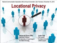 Locational privacy: Control and personalization in location-based social networks