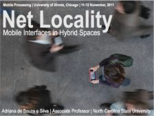 Net Locality: Mobile interfaces in hybrid space
