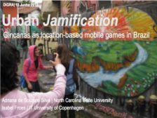 Urban jamification: Gincanas as location-based mobile games in Brazil